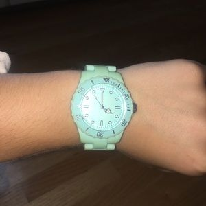 target turquoise watch (old, needs battery)